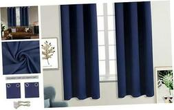 Blackout Curtains for Bedroom - Grommet Thermal Insulated Ro