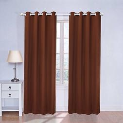 Blackout Curtains 63 Inches Long for Bedroom, Living Room, B