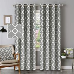 Flamingo P Blackout Curtains Moroccan Tile Print Curtains 96