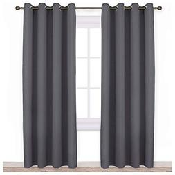 Blackout Curtains Panels for Bedroom Three Pass Microfiber N