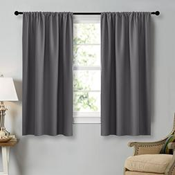 NICETOWN Grey Window Curtains for Bedroom - Home Decoration