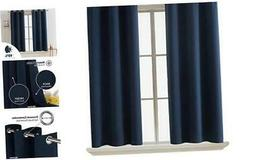 blackout curtains room darkening thermal insulated curtain