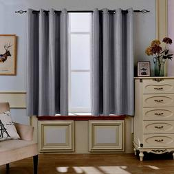 Blackout Curtains Thermal Insulated Window 52 x 63 Inch Ligh