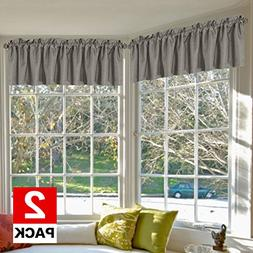 H.VERSAILTEX Blackout Curtains Valances-Thermal Insulated Wi