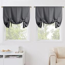NICETOWN Blackout Kitchen Window Curtains - Thermal Insulate