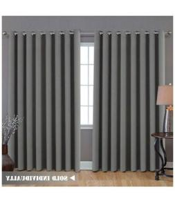 blackout patio curtains extra long wider thermal