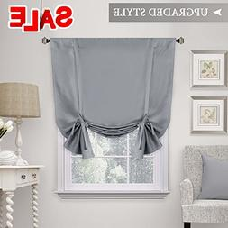 H.VERSAILTEX Blackout Tie Up Curtain, Energy Efficient Windo