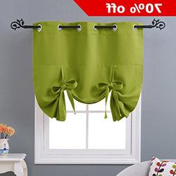 NICETOWN Blackout Valance Curtain for Windows - Block out Su