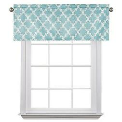 Flamingo P Blackout Window Valance for Kitchen 52-inch by 18