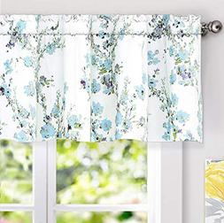 DriftAway Blossom Abstract Floral Ink Painting Lined Window