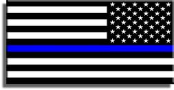 Blue Lives Matter, Thin Blue Line Picture on Stretched Canva