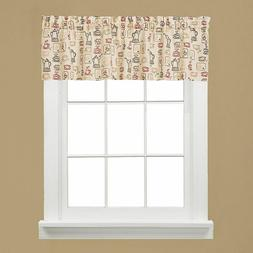 Saturday Knight Breaktime 58 x 13 Window Valance Coffee Cup