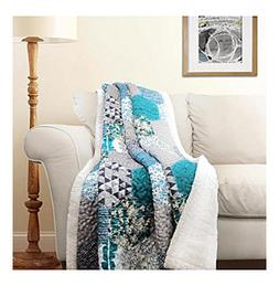 Lush Decor Briley Sherpa Throw