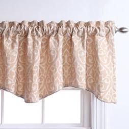 bryce chenille scalloped valance