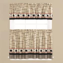 Cafe Coffee Themed Kitchen Curtain Collection - NEW