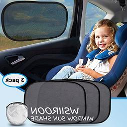 Car Sun shade, Wsiiroon Car Window Shade For Car Windows, Ma