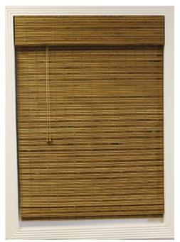 Calyx Interiors Bamboo Roman Shade, 35-Inch Width by 54-Inch