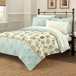 Discoveries 2A850102BL Comforter Set, Full, Blue