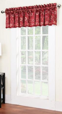 Sun Zero Celestia Circular Energy Efficient Curtain Valance,