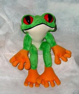 Rainforest Cafe ~ Cha Cha the Red Eyed Tree Frog ~ Plush Fro