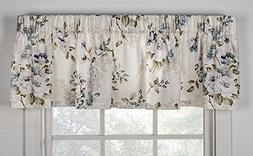 Chatsworth Print Tailored Valance Curtain 70-Inch-by-15-Inch