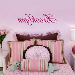 Child's Name ONE NAME Wall Decal Personalized Baby Nursery K