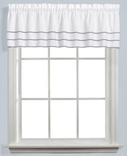 """Closeout! Saturday Knight Anne 56"""" x 24"""" Pair of Tier Curtai"""
