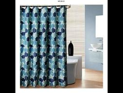 Uphome Cobble Stone Bathroom Shower Curtain, 72 X 72 Inch Bl