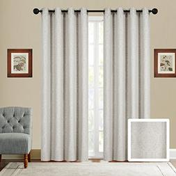 Fancy Collection Set of 2 Panels Curtain Embroidery Modern J