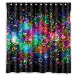 FUNNY KIDS' HOME Colorful Bubbles Beautiful Rainbow Abstract
