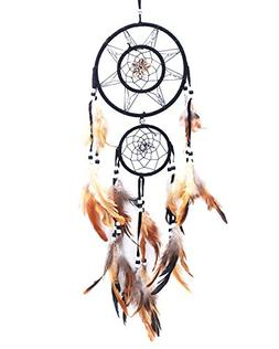 niceEshop Concentric Circles Dream Catcher for Car Mirror an