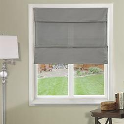 Chicology Cordless Magnetic Roman Shades / Window Blind Fabr