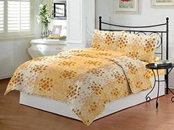 Bombay Dyeing Premium Cotton Double Bedsheet With 2 Pillow C