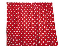 Zen Creative Designs® Premium Cotton Polka Dot Curtain Pane
