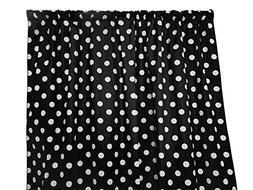 Zen Creative Designs Premium Cotton Polka Dot Curtain Panel/