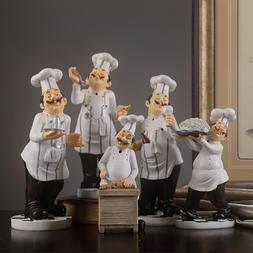 Creative Resin Handicraft <font><b>Chef</b></font> Figurines