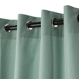Sunbrella Outdoor Curtain with Grommets -Nickle Grommets - M