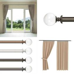Curtain Rods & Hardware Decorative Crystal Ball For Home Dé