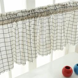 Curtain Valance 45x150cm Decorative Durable For Window Kitch