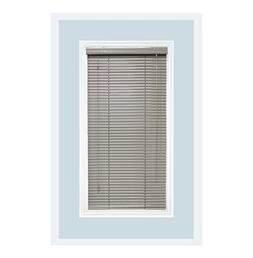Custom-Made Aluminum Horizontal Window Mini Blinds, 1 Inch S