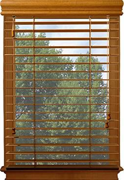 Custom-Made, 2 Inch Nulite Prestige Basswood Blinds, Inside