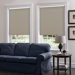 Custom Roller Shades, Any Size 19-96 Wide, 95W x 55H, Serena