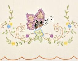 GOHD - DANCING BUTTERFLY. 3pcs Multi-color embroidery kitche
