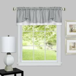 "Achim Home Furnishings Darcy Window Curtain VALANCE, 58"" X 1"