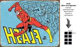 Shop72 DC Comic Serise The Flash Metal Tin Sign Super Hero R