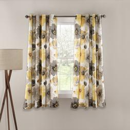Lush Decor Leah Room Darkening Window Curtain Panel Set