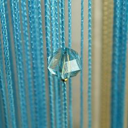 1pcs Decorative String Beads Curtain Wall Panel Fringe Room