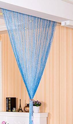 Eyotool 1x2 M Door String Curtain Rare Flat Silver Ribbon Th