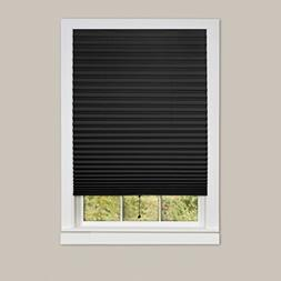 naturally home Easy On Shade Black Vinyl Room Darkening Temp