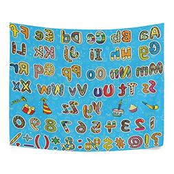 Educational Kids Colorful Alphabet Digits and Symbols Polyes